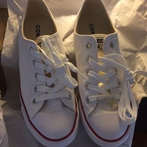 White Dainty Converse.